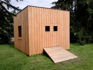 abri de jardin contemporain bois et fibres With abri de jardin contemporain