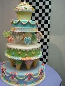 Fun Candy Birthday Cake
