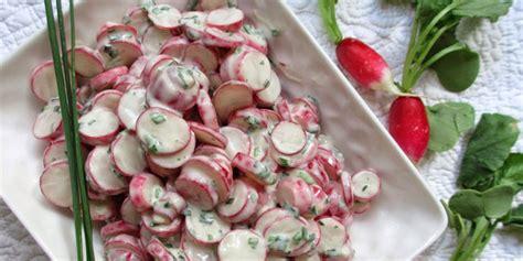 cuisiner le radis blanc salade de radis à la ciboulette je cuisine mon potager
