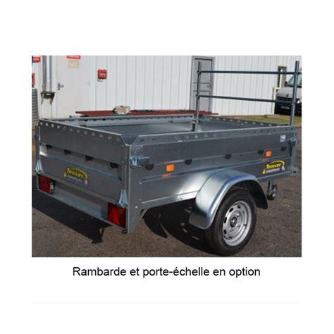 remorque essieux freinée remorque routiere temver tv 200 ptac 750 kg achat vente remorque routiere 95 pos