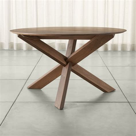 crate and barrel round dining table apex 51 quot round dining table crate and barrel