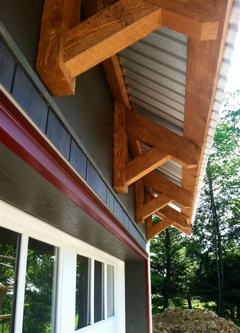 timber framed eave detail carport designs