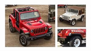 2018 Jeep Jl Wrangler Vs  1987 Jeep Yj Wrangler