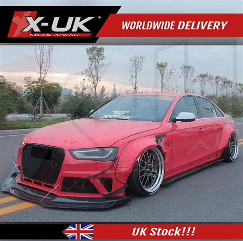 wide body conversion fenders  audi