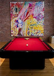 Best Pool Table Felt Ideas And Images On Bing Find What Youll Love - Red top pool table