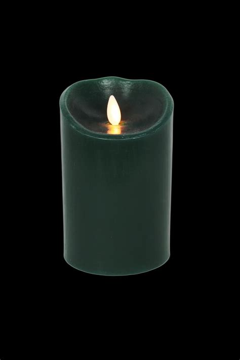 Candele Luminara by Luminara Flameless Candle Forest Wax With Pine Scent 3 Quot X