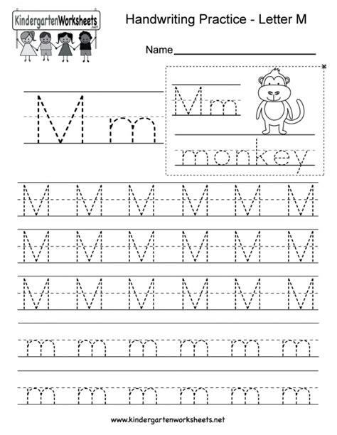 Kindergarten Free Printable Handwriting Worksheets For Kindergarten Best Free Printable Worksheets
