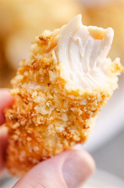 chicken fryer air strips panko tenders thecreativebite recipes crumbs quick easy meal buffalo