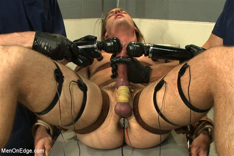 Surfer boy with a fat cock gets tied up and edged   MetalbondNYC.com