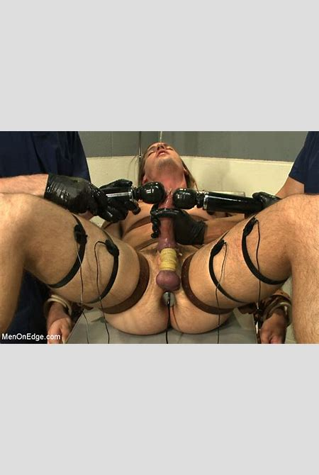 Surfer boy with a fat cock gets tied up and edged | MetalbondNYC.com