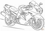 Coloring Motorcycle Pages Kawasaki Printable Drawing Dot Paper sketch template