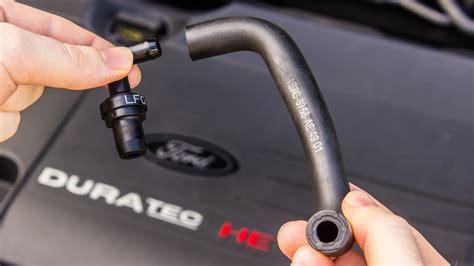 replace pcv valve hose oil separator ford