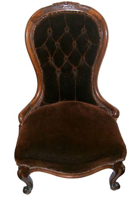 sold walnut cabriole leg nursing chair