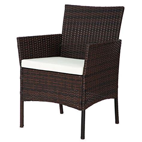 merax 4 pc outdoor garden rattan patio furniture set