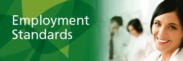 employment standards acts and regulations