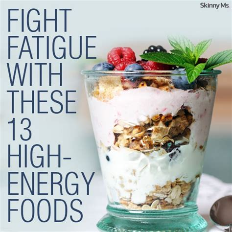 fight fatigue with these 13 high energy foods beverages