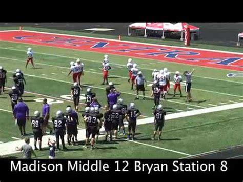 madison middle school bryan station roy kidd bowl bereaonline