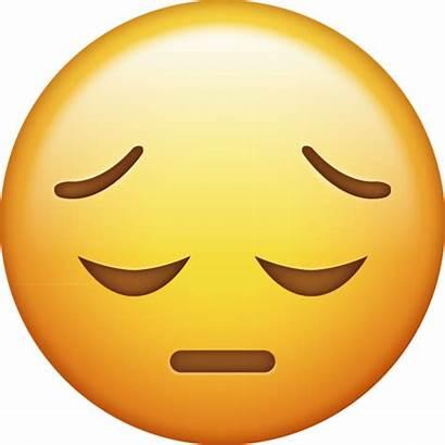 Emoji Sad Face Iphone Ios Emojis Happy