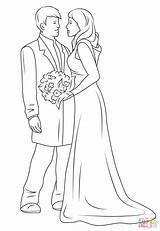 Coloring Couple Pages Drawing Printable Happy Couples Weddings Anime Drawings Sheets sketch template