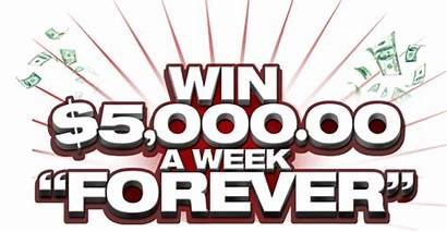 5000 Clearing Win Week Prize Sweepstakes Forever