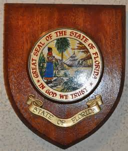 Florida State Seal Wall Plaque