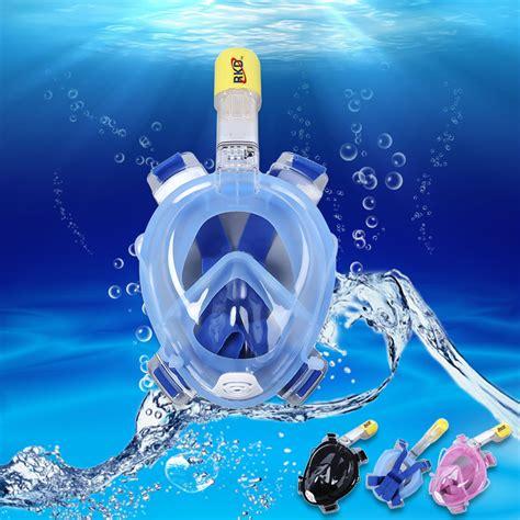 full face diving mask underwater detachable dry scuba