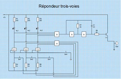 logiciel pour la creation de schema electrique