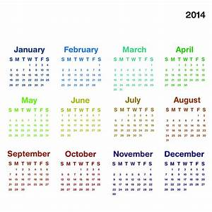 fillable calendar template 2014 - 2014 calendar ready to printable elsoar