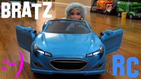 A Blue Bratz Rc Car And Toy Doll