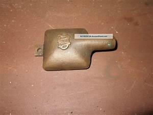 Antique Brass Early Boat Bilge Pump Floor Suction Strainer