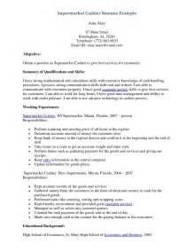 description grocery cashier resume supermarket cashier resume sle resumes design