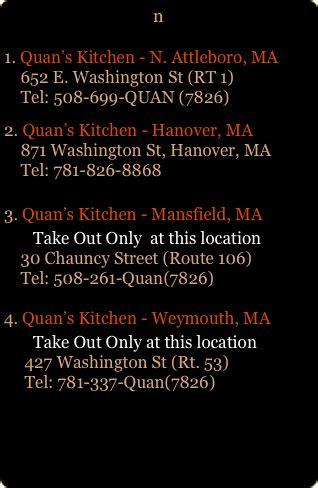 Quan S Kitchen Weymouth Ma by Quans Kitchen Asian Food And Sushi Bar