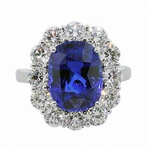 Blue Sapphire Engagement Rings Meaning - Wedding and