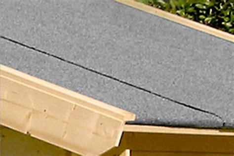 Dachpappe Und Dachplatten by Gartenhaus Vera Blockhaus Holzhaus Ger 228 Tehaus Holz