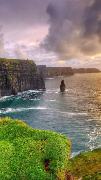 Ireland Iphone Irish Wallpapers Scenery Backgrounds Background