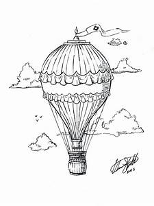 Hot Air Balloon Tattoo by C-Fillhart on DeviantArt