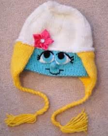 Smurfette Crochet Hat Pattern
