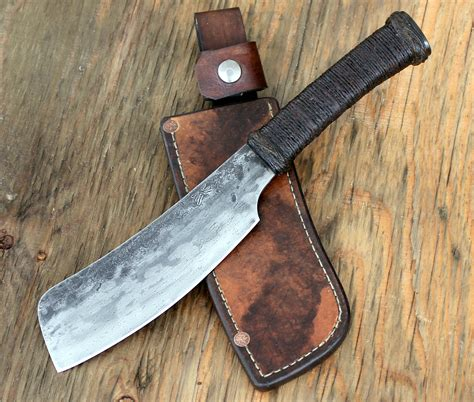 specialty kitchen knives bush cleaver wildertools by rick marchand