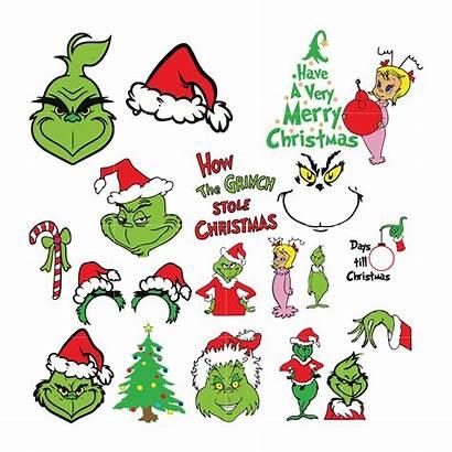 Grinch Svg Christmas Bundle Dxf Eps Digital