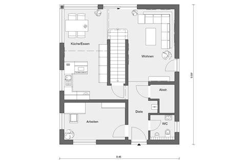 Grundriss Wohnung 120 Qm by Fertighaus Mit 120 Qm E 20 128 3 Schw 246 Rerhaus