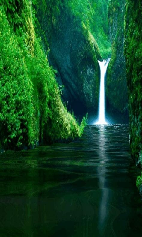 Beautiful 3d Nature Wallpaper Android by Amazing Waterfall Live Wallpaper Appstore For