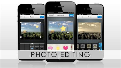 edit iphone how to edit photos on iphone 5 4s 4 3gs ipod and