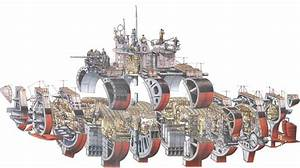 U-boat Cross-section
