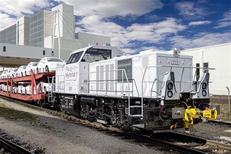 hybrid lokomotive im audi werk ingolstadt audi blog
