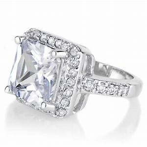 beautiful 5 karat engagement ring With 5 carat wedding ring
