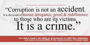 Call for a corruption-free Africa: A rights based approach ...