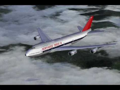 Northwest Airlines Commercial from the 70's - YouTube