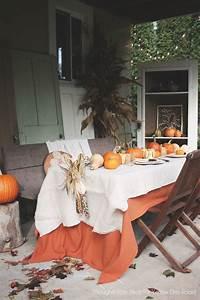 trending patio table decor ideas Outdoor Patio Thanksgiving Table