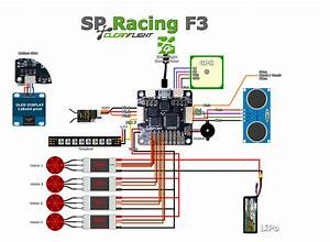 Sp Racing F3 Flight Controller  Acro