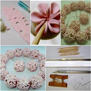 How to make Clay Flower Ball step by step DIY tutorial ...
